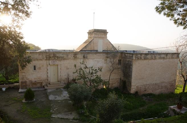 מנזר סנטה אנה, ציפורי, מרץ 2013