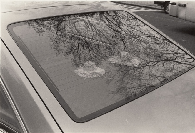 Hats in car, Mahatten, New York, 1990