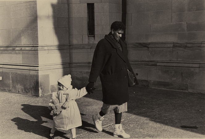 Woman and girl, Upper East Side, New York, 1990