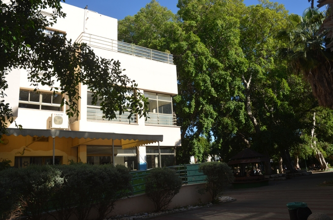 בית חולים דג'אני - האדריכל: יצחק רפפורט. מאי 2015.