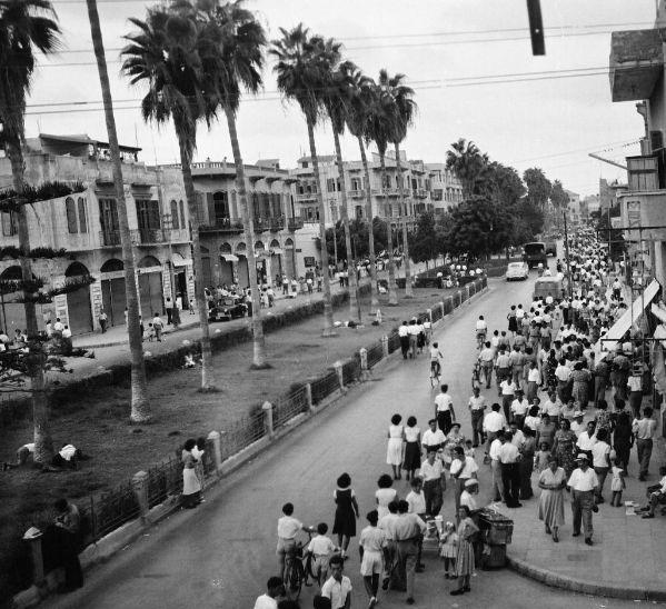 שדרות ירושלים 1952