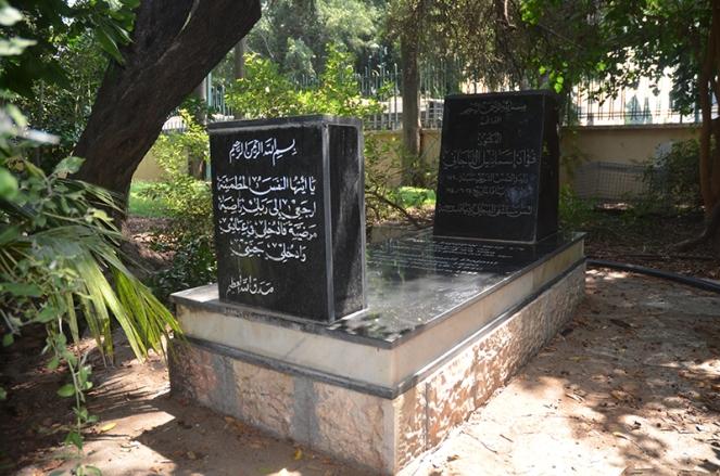 קברו של פואד דג׳אני, צהלון, יפו. צילום: ורד נבון 2018